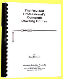 professional dowsing course,Russ Simmons